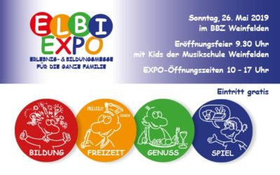 BINJA-Stand an der ELBI EXPO