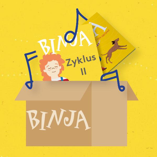 Binja-Set (Zyklus II) 3. – 6. Klasse