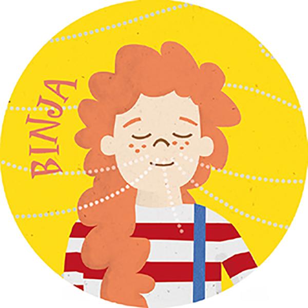 Binja Sticker-Set A